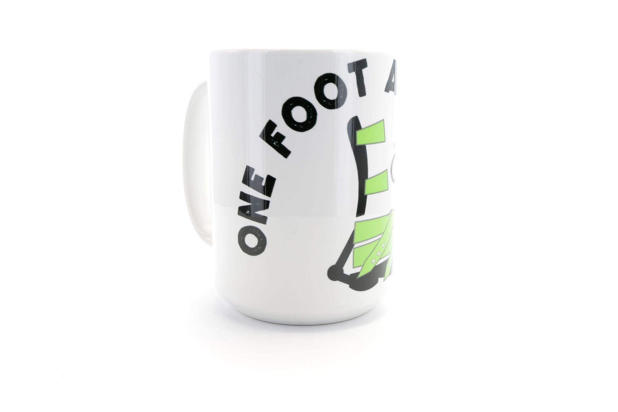 One Foot at a Time ADM Mug